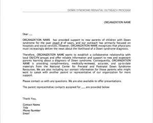 Image of introduction letter.